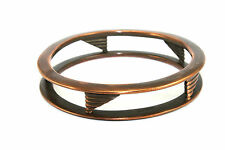 EARLY Vtg NYC Modernist BEN-AMUN Handmade GEOMETRIC Copper Bangle Bracelet