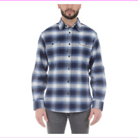 Jachs Men's Brawny Flannel Shirt  Long Sleeve