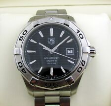 Tag Heuer Aquaracer Automatic Gents Watch Black Boxed & Papers 2011