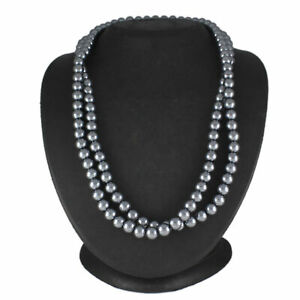 """HSN Simulated Pearls Fashion 40"""" L Necklace"""