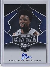 Daniel Hamilton 2016-17 Totally Certified Rookie Roll Call Autograph
