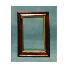Dolls House 1/12th Scale Wooden Picture Frame x 2 D1956