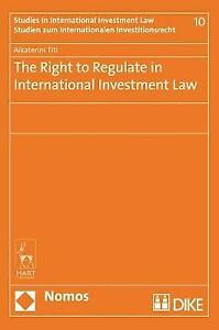 The Right to Regulate in International Investment Law, Catharine Titi, New Book