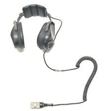 Military Surplus Astrocom Radio Headset PN H-251A/U NSN 5965-01-182-3384 Used