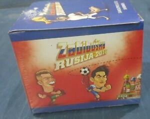 Zabibuska 2018 World Cup RUSSIA Box  50 Pack Sticker