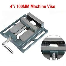 100mm Cast Iron Pillar Drill Press Vice Tools Milling Workshop Jaw Silverline