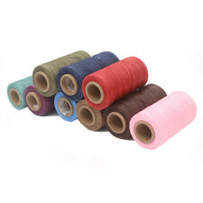 Sewing Thread Waxed Cords for Crafts Leather Shoes All Purpose 1mm 260m 20colors