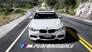 BMW 1,3 Series M Performance Sun strip Car Windscreen Sun Strip