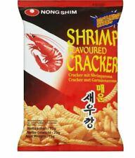 NONGSHIM Shrimp Flavoured Crackers Plain/ Hot & Spicy Crackers 75g