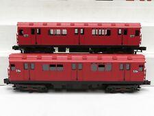MTH 30-2727-3 MTA World's Fair R-12 Red 2-Car Subway Non Powered Set LN