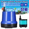 15-90W 900-5000L/H Submersible Spout Water Pump Fish Tank Aquarium Pond  * ↕