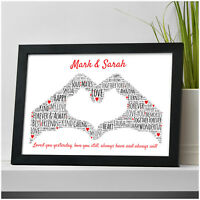 Gifts for Couples Personalised Boyfriend Girlfriend Her Him Christmas Gifts