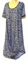 TS dress TAKING SHAPE plus sz XS / 14 'Serpent' stretch slouch comfy NWT rp$130