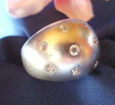 Ring aus 925 Silber Fingerring Silber mit Steinchen Sternenhimmel / Art. dd 434