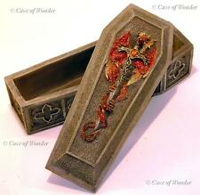 NEMESIS NOW DRAGONS TOMB TRINKET BOX Gothic/Occult/Myth/Legend/Wyrm/Celtic/Pagan