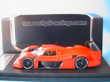 TOYOTA GT ONE TEST CAR LE MANS RED HPI RACING 8145 1/43 ROUGE ROSSO ROT RESINE