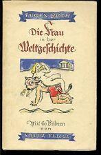 Die Frau in der Weltgeschichte-Eugen Roth-Gebunden-
