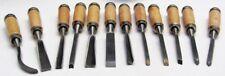 Schnitzwerkzeug-Satz 12-teilig Schnitzsatz Schnitzmesser Messer Holz-Schnitzen
