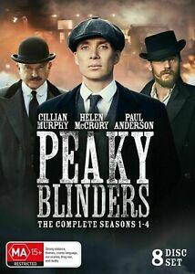 Peaky Blinders Series Complete Season 1-4 1 2 3 4 New DVD Box Set Region 4 R4