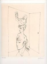 BELLMER HANS GRAVURE 1973 SIGNÉ AU CRAYON NUM/100 HANDSIGNED ETCHING SURRÉALISME