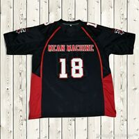 Paul Crewe  18 Stitched Football Jersey Mean Machine The Longest Yard Movie db1ff1de6