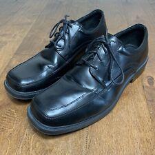 Dexter Comfort Mens Sz 14 Black Oxford Dress Shoes Business Lace Up Memory Foam