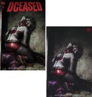 Dceased #1 Jeehyung Lee Harley Quinn Variant Set - NEW - ##