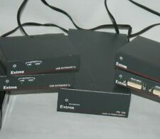 Mixed Lot of 7 extron items power supply hdmi usb extender tx series