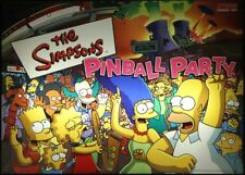 SIMPSONS PINBALL PARTY Playfield Light mod AMBER  mod
