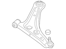 Genuine Mitsubishi Lower Control Arm 4013A309
