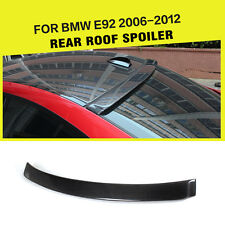 Carbon Fiber Rear Roof Spoiler Wing Fit For BMW 3 Series E92 325i 325i M3 Coupe