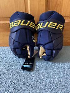 """bauer hockey pro stock return hockey gloves size 13"""""""