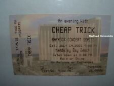 Cheap Trick Concert Ticket Stub Las Vegas Mandalay Bay Very Rare Robin Zander