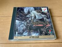 Castlevania: Symphony of the Nigh Japan PlayStation Sony PS1 with Box,manual