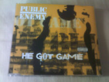 PUBLIC ENEMY - HE GOT GAME - UK CD SINGLE