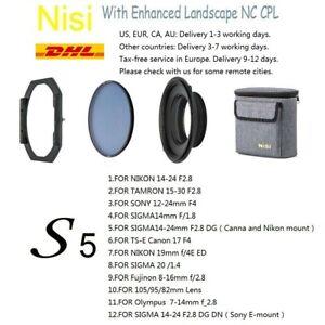 NiSi S5 Kit 150mm Filter Holder Enhanced Landscape NC CPL Ultra wide-angle lens