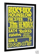 Jimi Hendrix Concert Poster Ricky Tick Hounslow 1967