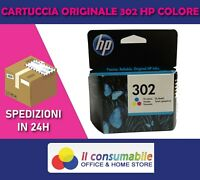 ORIGINALE  HP HP 302 COLORE OfficeJet 3830 All-in-One Envy 4526 All-in-One DeskJ