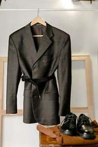 2700$ YSL YVES SAINT LAURENT oversize blazer Made in Italy US 42 EU 52