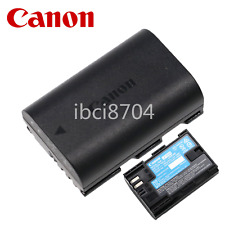 Original Canon LP-E6N battery 5DS 5D4 5D3 5D2 7D2 6D2 80D 70D 60D 7D 7DMark II