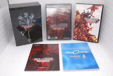 PlayStation 2 DIRGE OF CERBERUS Final Fantasy VII w/ Original Soundtrack CD Case