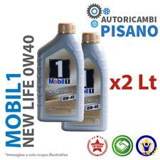 2 LITRI DI OLIO MOTORE ORIGINALE MOBIL 1 0W40