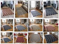 Flat weave Rug Kitchen hall Runner mat gel backing Anti Slip indoor Outdoor Rugs