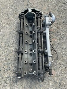 Original Jaguar MK2 B Type Cylinder Head Complete With Inlet Manifold.