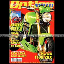 OPTION MOTO N°36-b BUELL S1 KAWASAKI ZR-7 ZRX 1100 DUCATI 748 ★ STREET BIKE 1999