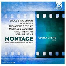Gloria Cheng - Montage Great Film Composers and The Piano [CD]
