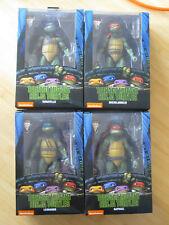 NECA TMNT Teenage Mutant Ninja Turtles Wave 1 Movie Figure Set Genuine 1990 NEW
