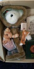 Boyds Bear Fern Woodsbeary with Porcelain Figurine 99792V