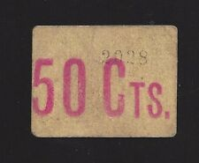 F.C. SANT POL DE MAR (BARCELONA), 50 CENTIMS. EBC+.