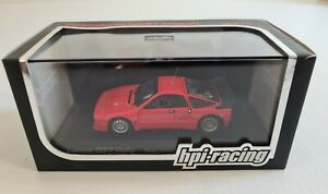 1/43 HPI 960 Lancia 037 Rally (Red) Die Cast Model